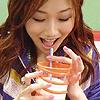 kurikocyberpink: (Kuriko is drinking)