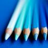 acciochocolate: (blue drawing pencils by phchiu)