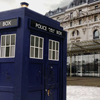 chicafrom3: photo of the TARDIS (m: b&tb: reading rocks)