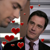 sinfulslasher: (white collar neal + peter little hearts)