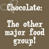 "sareini: ""chocolate: the other major food group!"" (Chocolate)"