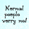 "sareini: ""Normal People worry me!"" (Normal People)"