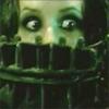 sareini: Amanda from the Saw movies wearing an reverse bear trap (Saw)