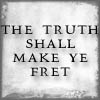 sareini: The truth shall make thee fret - Discworld (The Truth)