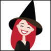 heathwitch: Cartoon character of myself as a Witch (Witch) (Default)