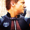 so_hawkward: ([hawk] suited up in profile)