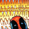 supertights: Image of Deadpool's head and text (Deadpool ftlog)