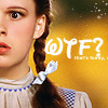 supertights: Image of Dorothy Gale from The Wizard of Oz and text (Dorothy Gale, Wizard of Oz)
