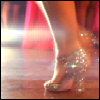 supertights: Image of sparkling dancing shoes (Dancing shoes)