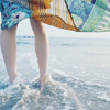 supertights: Image of someone standing at the edge of the ocean (Ocean, Legs)