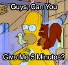 iamtheaj: (Simpsons - 5 minutes)