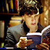 selbarton: (Sherlock reading) (Default)