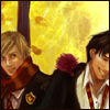 linnpuzzle: ([HP]  Moony and Padfoot laughing)