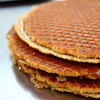pax_athena: a stack of fresh Dutch stroopwafels (stroopwafel)