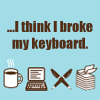 meggin: (Nano - Broken Keyboard)