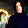vex_verlain: Alan Rickman as Severus Snape, in the Potions classroom. (Severus Snape)