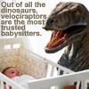 whiteviolets: (raptor babysitter)