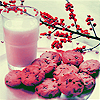 turante: (milk cookies flowers)