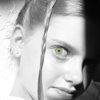 bojojoti: (BW-Side Shadow Girl Green Eye)