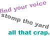 wanderingmusician: (find ur voice)