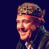 penumbren: Jeremy Clarkson wearing a crown on QI (Tony/Steve)
