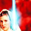 starwarsficfest: (Leia lightsaber)