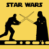 starwarsficfest: (Yellow duel)