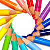 sinicallytwisted: Circle of Color Pencils (coloring)