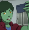 hashtagbeastboy: (time to take a selfie)