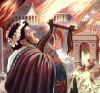 saavedra77: Nero playing lyre while Rome burns ... (nero)