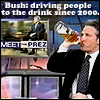cbrownjc: (Jon Stewart - Bush making people drink)