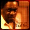 "saavedra77: ""Take off that tie!"" - Al Giardello, Homicide: Life in the Street. (Yaphet Kotto Al Giardello Tie)"