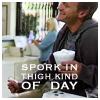 sylvar: (Dr. Horrible: Spork in thigh kind of day)
