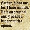 lunadelcorvo: (Poked a Badger)