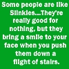 lunadelcorvo: (Some people are like slinkies)