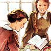 sallymn: from a Chalet School book cover (books 2)