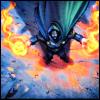 nomadicwriter: Doctor Doom shooting fireballs (blast radius)