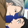 icicle33: (yuri victor ice kiss)