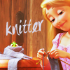 patchsassy: Tangled Knitting (knitting, tangled, disney)