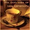 winter: (objects - tea ceremony, emote - peace)