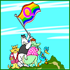 geminigirl: (Queer Duck Flag Raising)