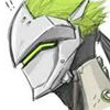 green_cyborg_ninja_dude: (cyborg - (EMP) green hair profile)