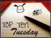 kiwiria: (Books: Top Ten Tuesday)