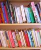 juliet: Shot of my bookshelves at home (books)