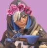 korp: flowercrown ana (frowning flowercrown)