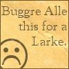 vulgarweed: (buggre_by_dwightsredshoes)