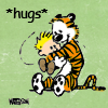 hughville: (Calvin and Hobbes hug)