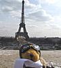 cowgrrl: Dianebear at Eiffel Tower (dianebear)