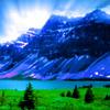 aresnz1: (Mountains - sunrise)