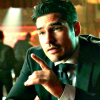 neverasked4this: actor DJ Cotrona (Pointing listen up okay?)